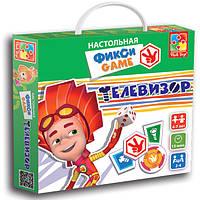 Развивающая настольная игра-ходилка Фикси Игры Телевизор Vladi Toys VT 2108-02