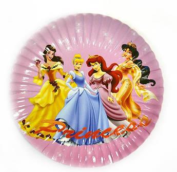 Тарелка одноразовая Принцессы Диснея