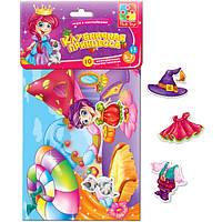 Набор для творчества  с мягкими наклейками  Клубничная принцесса  Vladi Toys VT  4206-15