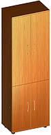 Шкаф офисный с дверьми А-436