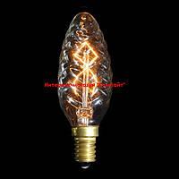 Винтажная лампа Эдисона TC-C 40 Вт Е14 витая свеча