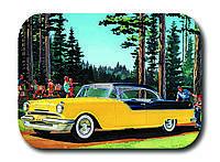 Магнитик Желтый автомобиль