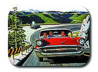 Магнитик Красный автомобиль