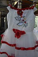 """Плаття для дівчинки """"Святкове"""" червоне"""