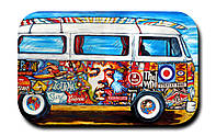 Магнитик Рок автобус