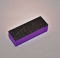 Баф для шлифовки ногтей 4-х стор. фиолетовый