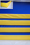Мат спортивно-гімнастичний 100*100*9 см, фото 10
