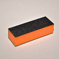 Баф для шлифовки ногтей 4-х стор. оранжевый