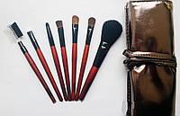 Компактный набор кистей для макияжа MaXmaR (7 штук)