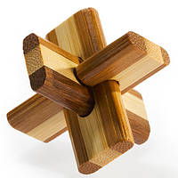 Деревянная головоломка Двойной Крест Doublecross