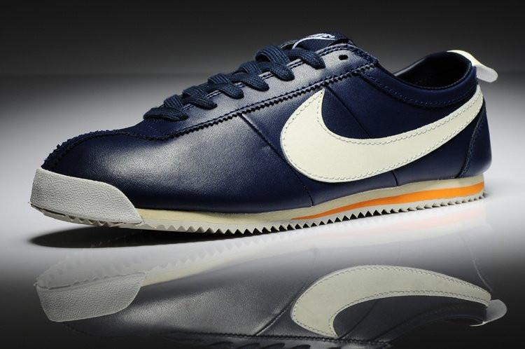 Najlepsze miejsce szukać wyprzedaż resztek magazynowych Кроссовки в стиле Nike Cortez New Style Blue Leather 43 - Bigl.ua