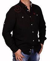 Рубашка мужская Ralph Lauren-1348 черная
