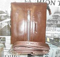 Кожаная мужская сумка ARMANI
