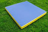 Мат спортивно-гімнастичний 100*100*9 см, фото 9