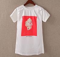 """Женская стильная футболка """"Monro"""""""