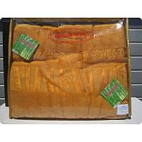 Бамбуковая махровая простынь 160x220 Exclusive bamboo gold