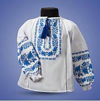 """Рубашка - вышиванка """"Дубок"""" для девочки от 2 до 12 лет"""