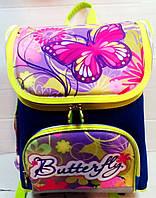 Рюкзак  школьный  Wei wei WW-3092 бабочки