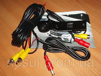 Камера заднего вида CCD под LED подсветку для Touran Passat Jetta Caddy Golf Plus Multivan T5 (под крепеж винт