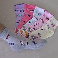 """Носки для девочек СЕТКА, 31-36  р/р. """"Корона"""".  Детские  носки, летние носочки для девочек"""