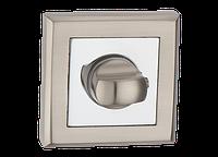 Накладка на замок под WC MVM Т7 SN/СР матовый никель/полированный хром