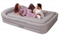 Надувная кровать Intex 66972 ИНТЕКС(241х180x56 см) Supreme Comfort Frame Bed 2 in 1  киев
