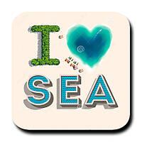 Магнитик Я люблю море 1