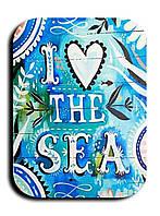 Магнитик Я люблю море 3