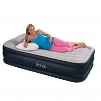 Надувная кровать Intex 67730 ИНТЕКС (99х191х48 см)Deluxe Pillow…киев, фото 1