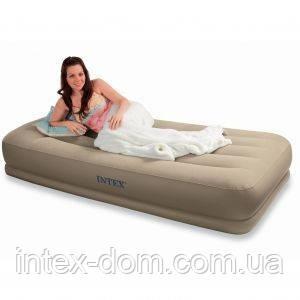 Надувная кровать Intex 67748 Pillow Rest киев…