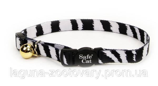 Coastal Fashion Safe Cat безопасный ошейник для котов, красный в клетку | 1 см.Х30 см, фото 2