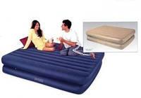 Надувная кровать матрас Intex Rising Comfort 66708 ИНТЕКС(99х191х48см)киев
