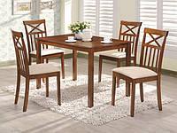 Комплект деревянной мебели Ривьера. Стол+4 стула.