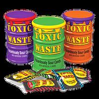 Кислые леденцы Toxic Waste Color Drums