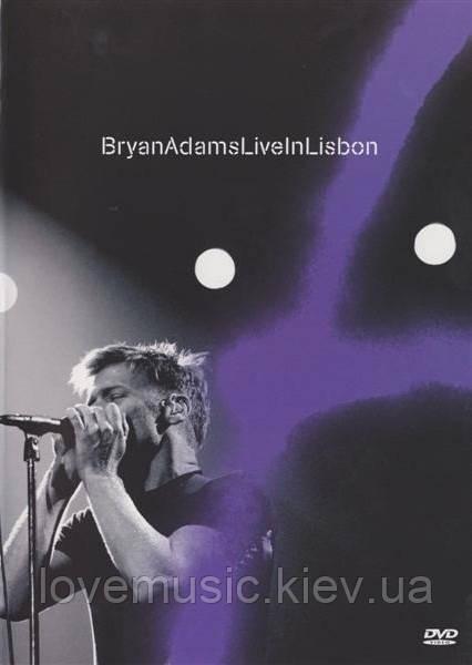 Відео диск BRYAN ADAMS Live in Lisbon (2005) (dvd video)