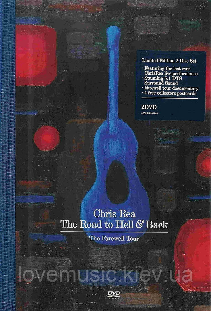 Відео диск CHRIS REA The road to hell and back (2006) 2 DVD (dvd-video)