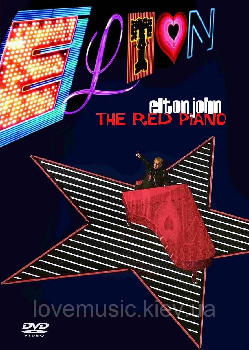Відео диск ELTON JOHN Red piano (2008) (dvd-video)