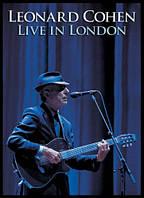 Видео диск LEONARD COHEN Live in London (2009) (dvd video)