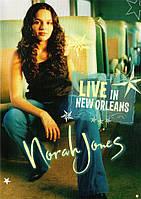 Видео диск NORA JONES Live in New Orleans (2003) (dvd video)