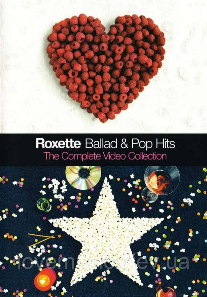 Відео диск ROXETTE Ballad & Pop Hits The complite video collection (2003) (dvd video)