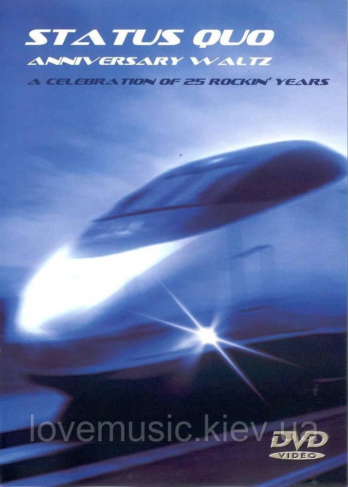 Відео диск STATUS QUO Anniversary waltz (2005) (dvd-video)