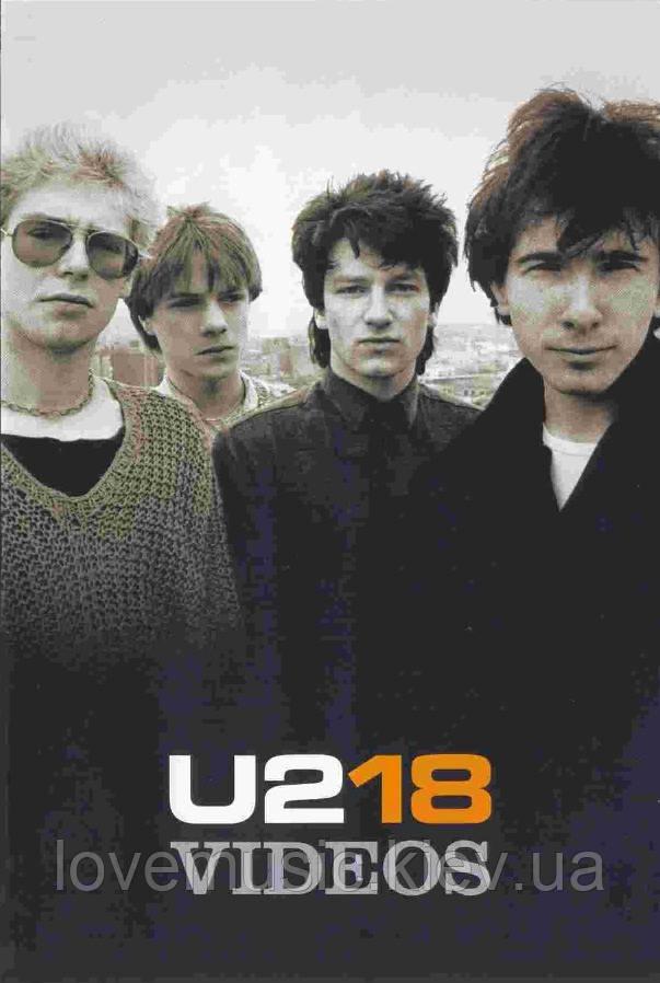 Відео диск U2 18 VIDEOS (2006) (dvd-video)