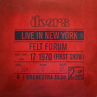 Виниловая пластинка DOORS Live in New York (1970) Vinyl (LP Record)