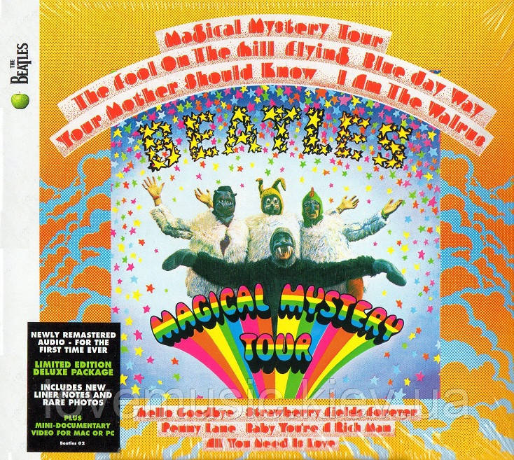 Музичний сд  диск THE BEATLES Magical mystery tour (1967) (audio cd)