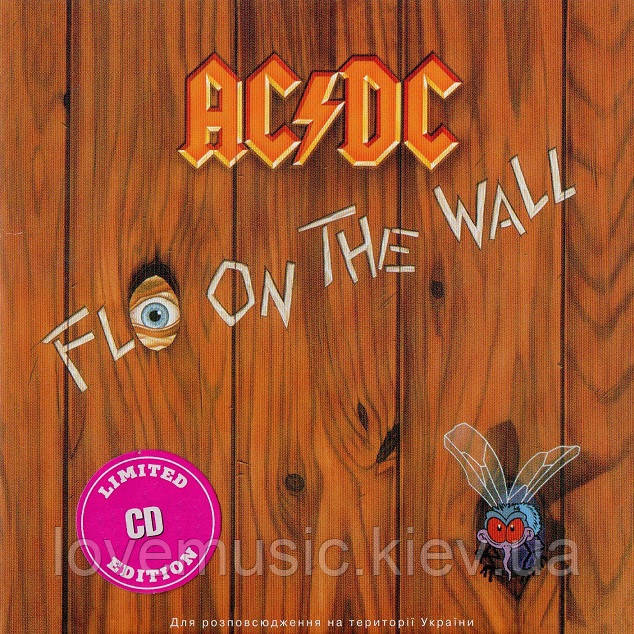 Музичний сд диск AC/DC Fly on the wall (1985) (audio cd)