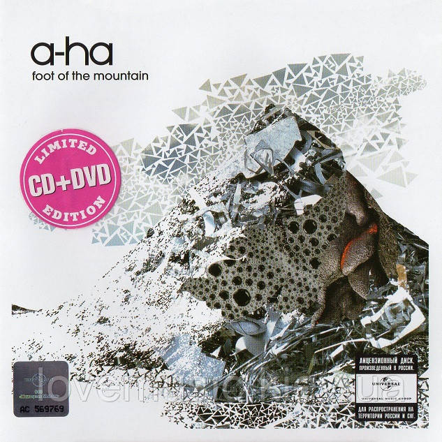 Музичний сд диск A–HA Foot of the mountain (2009) (audio cd)
