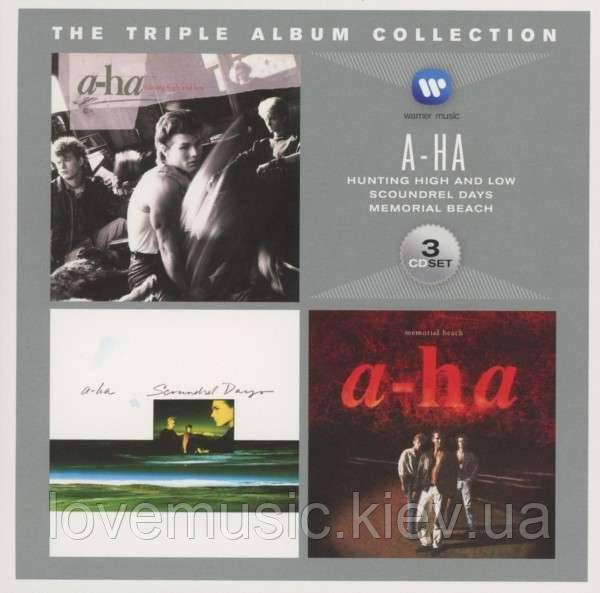 Музичні сд диски A–HA The triple album collection (audio cd)