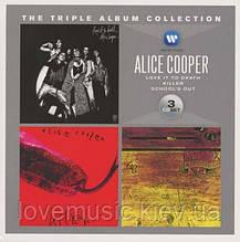 Музичні сд диски ALICE COOPER The triple album collection (audio cd)