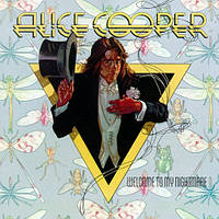 Музыкальный сд диск ALICE COOPER Welcome to my nightmare (1975) (audio cd)