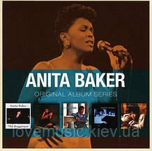 Музичні сд диски ANITA BAKER Original album series (2011) (audio cd)
